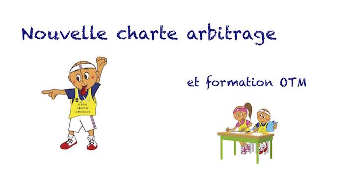 nouvelle charte arbitrage
